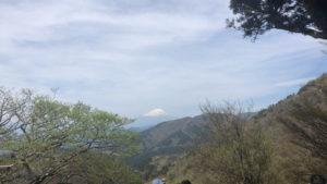 大山の富士見台