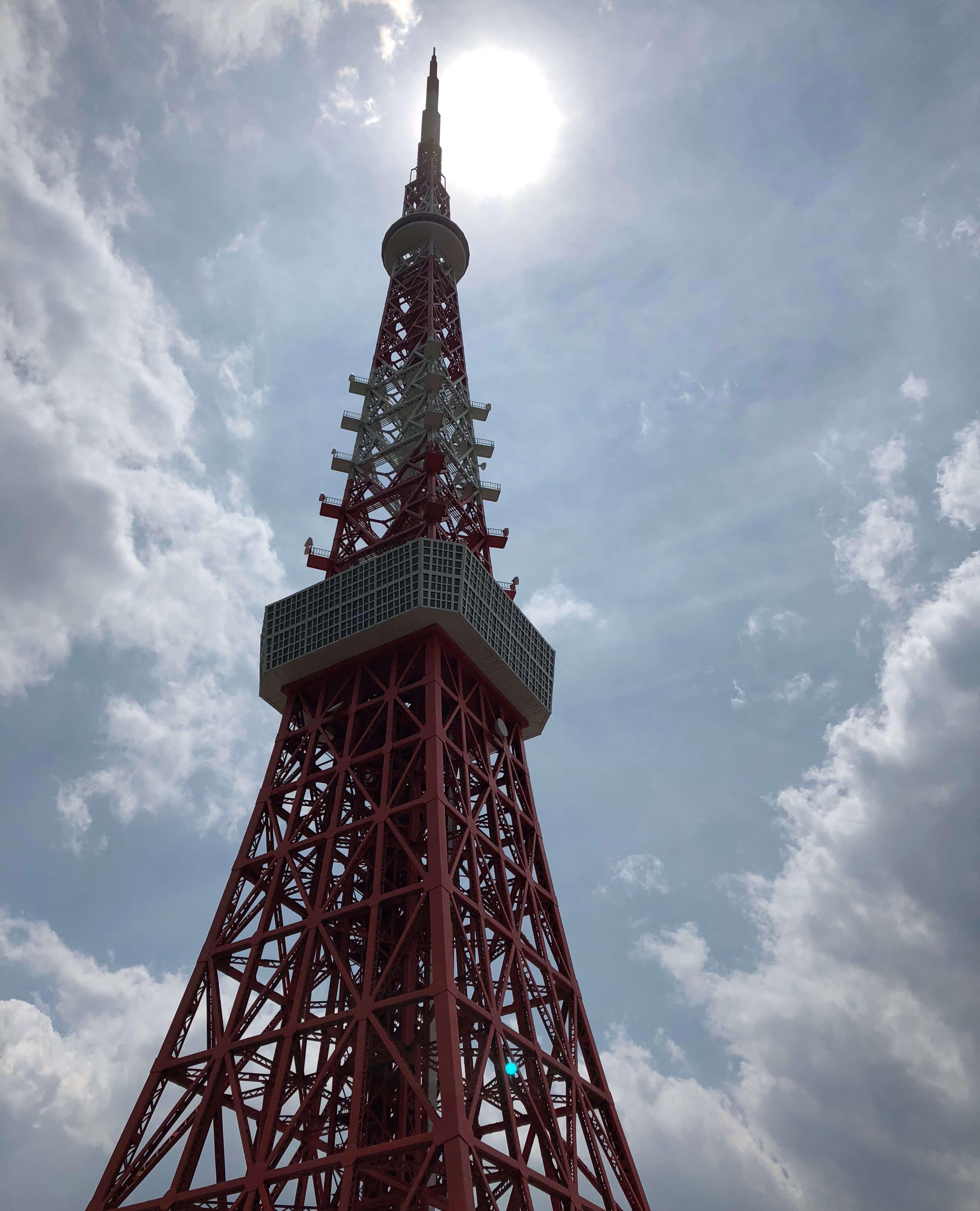 東武ワールドスクウェアの東京タワー